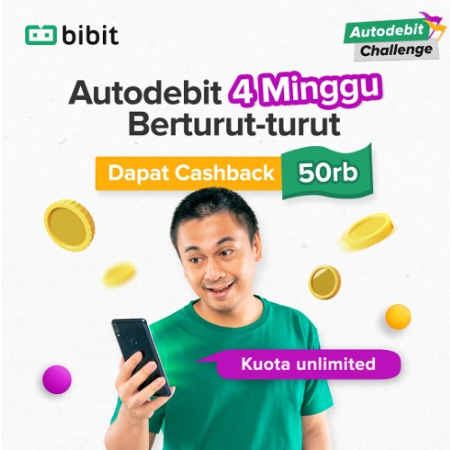 Program Autodebit Challenge dari BIBIT